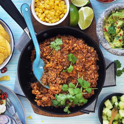 Bild på Taco med röda linser