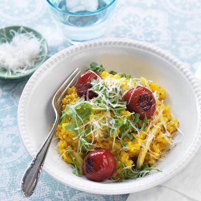 Bild på Saffransrisotto med tomater och fänkål