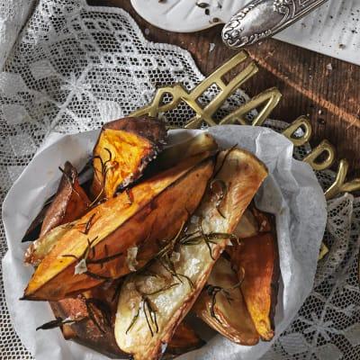 Bild på Rostad sötpotatis med rosmarin
