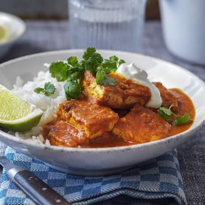 Bild på Tofu tikka masala