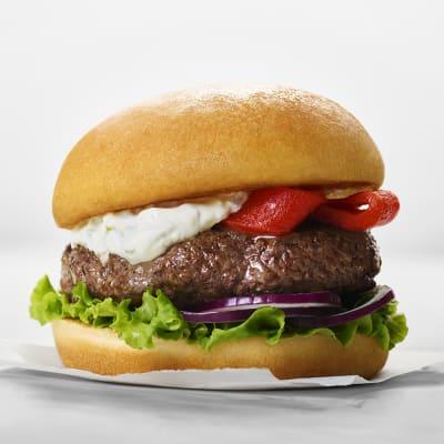 Bild på Grekisk hamburgare