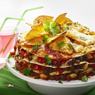 Bild på Tacotårta med nachos
