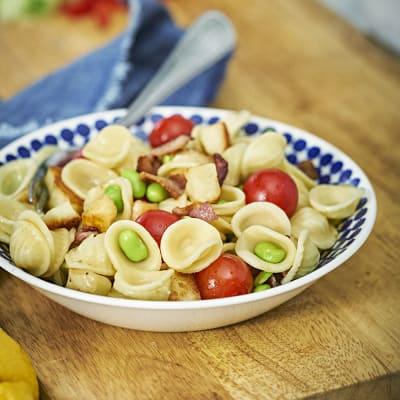 Bild på Barnens enkla pastasallad