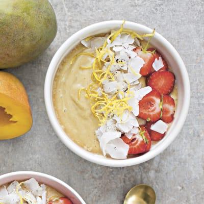 Bild på Mangobowl med kokos