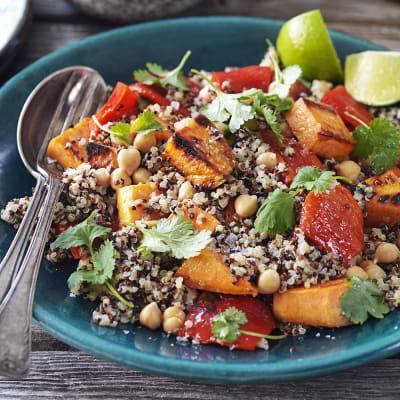 Bild på Quinoa med sötpotatis och koriander