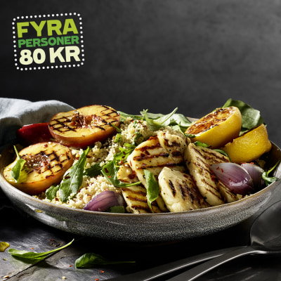 Bild på Couscous med grillad nektarin