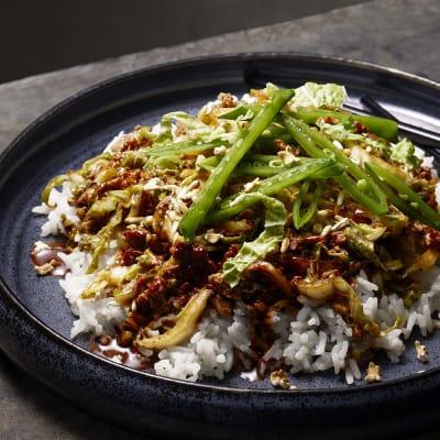 Bild på Lotta Lundgren - Kinesiskt fläsk med poppat ris