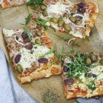 bästa pizza recept