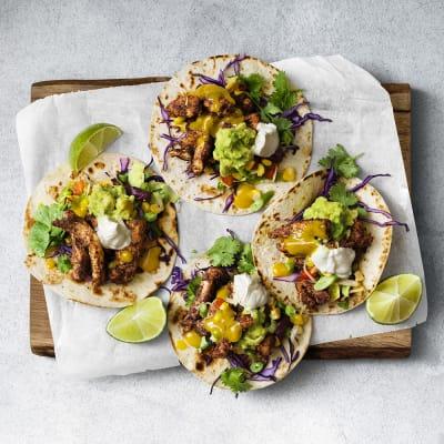 Bild på Jamaican jerk tacos