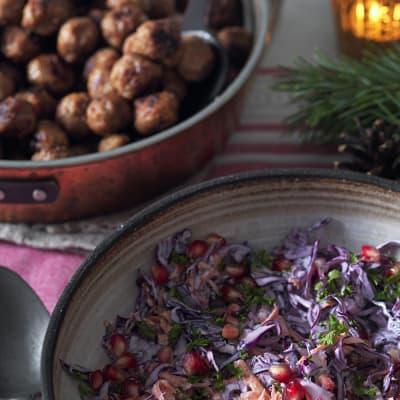 Bild på Köttbullar med ingefära och senap
