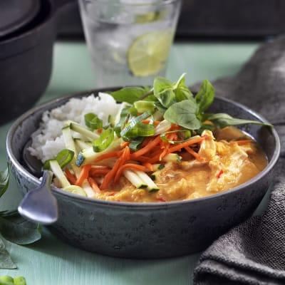 Bild på Thaikyckling med linser och röd curry