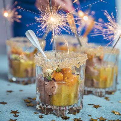 Bild på Chokladmousse med apelsinsås