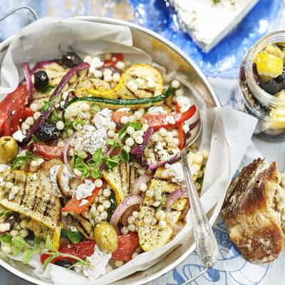 Bild på Marockansk couscous med grillade grönsaker
