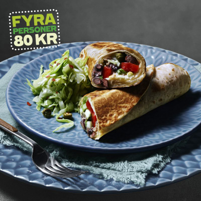 Bild på Tuna melt i tortillabröd