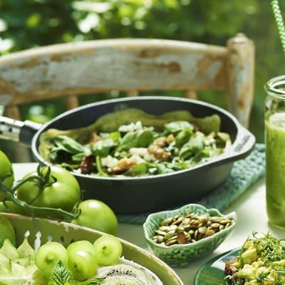 Bild på Grön omelett