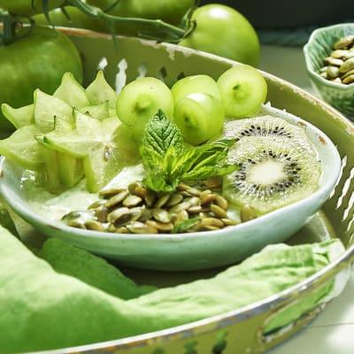 Bild på Grön yoghurtbowl