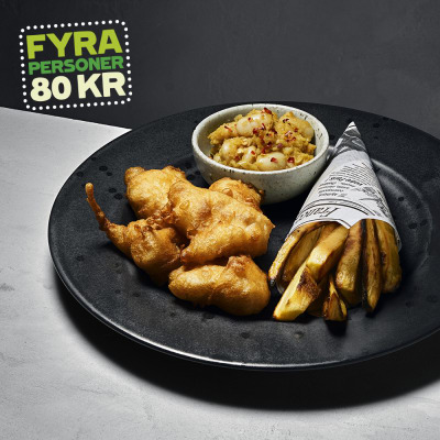 Bild på Fish and chips