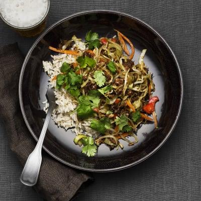Bild på Pulled oats-wok