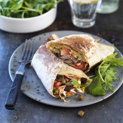 Bild på Grillad wrap med tonfiskröra