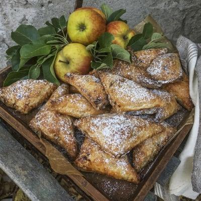Bild på Äpplen i smördegspaket