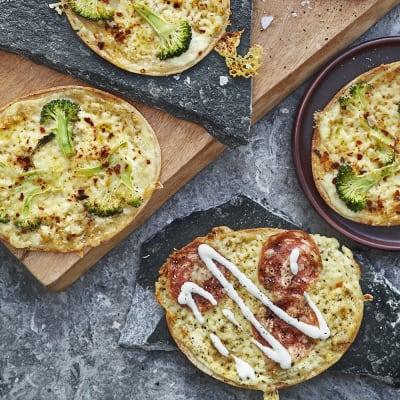 Bild på Pizza bianco med broccoli