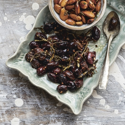 Bild på Bakade oliver