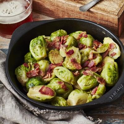 Bild på Brysselkål med bacon