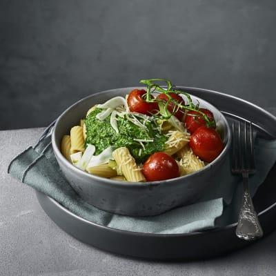 Bild på Pasta med grönkål och grana padano