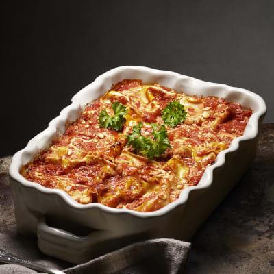 Bild på Vegolasagne med cottage cheese och spenat