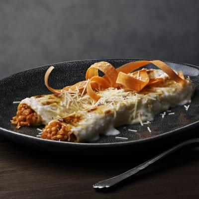 Bild på Cannelloni med linser och soltorkade tomater