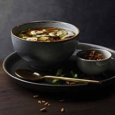 Bild på Buljongsoppa med primörer och tofu