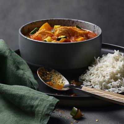 Bild på Fiskgryta med tomat och curry