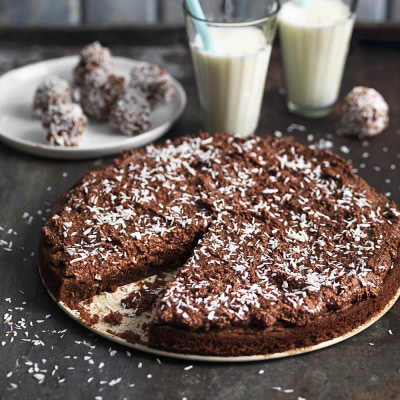 Bild på Chokladbollskladdkaka