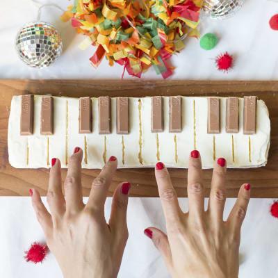Bild på Vivis pianotårta