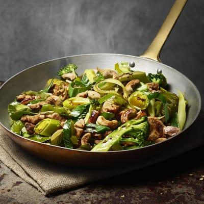 Bild på Fläskwok med cashewnötter