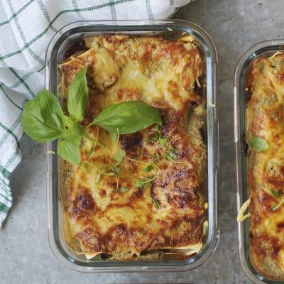 Bild på Lasagne med belugalinser