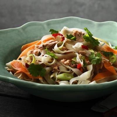 Bild på Risnudelsallad med tonfisk och lime