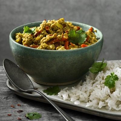 Bild på Kycklinggryta med indiska smaker