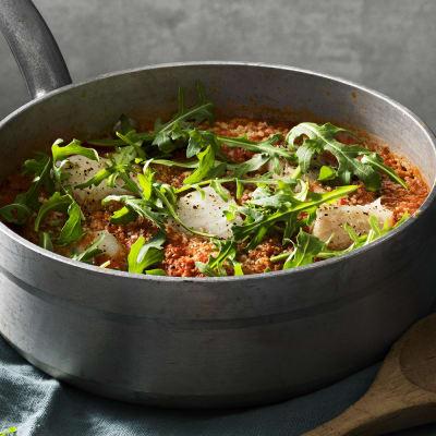 Bild på Lotta Lundgren - Couscous med tomat och fisk