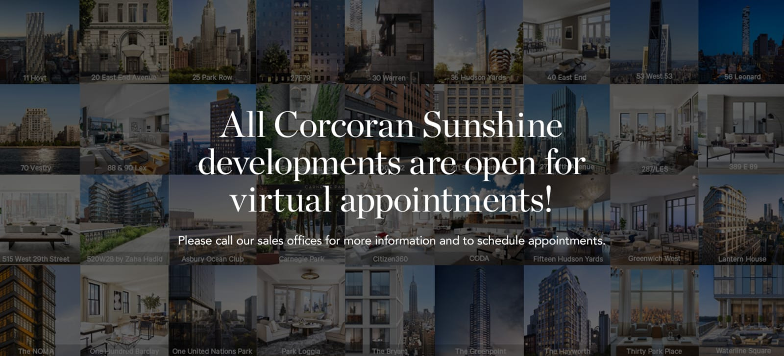 Find a Luxury New Development Real Estate Virtual Tour in New York City | The Corcoran Group