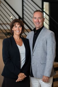 Jim  Doerr is a realtor for Perry & Co., a real estate company in Landmark.