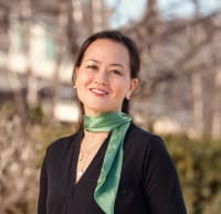 """Tatyana """"Chihiro"""" Allen is a realtor for Legends Realty, a real estate company in Tarrytown."""