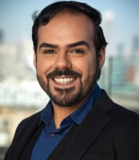 Eduardo Aguire is a realtor for Global Living, a real estate company in Pacific Heights.
