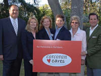 Corcoran Cares encourages agents and staffers to take part in the company's charitable initiatives