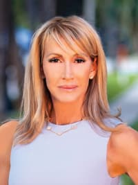 Laura Aman, a top real estate agent in South Florida for Corcoran, a real estate company in Palm Beach.