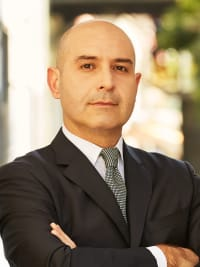Behzad Amiri, a top real estate agent in New York City for Corcoran, a real estate company in Park Slope.