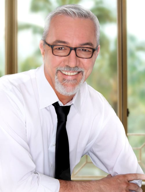 Chuck Garrett, a top real estate agent in New York City for Corcoran, a real estate firm in Kailua, Oahu.