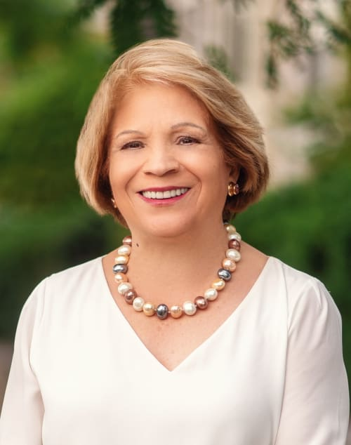 Elvira  Aloia, a top real estate agent in New York City for Corcoran, a real estate firm in Tarrytown.