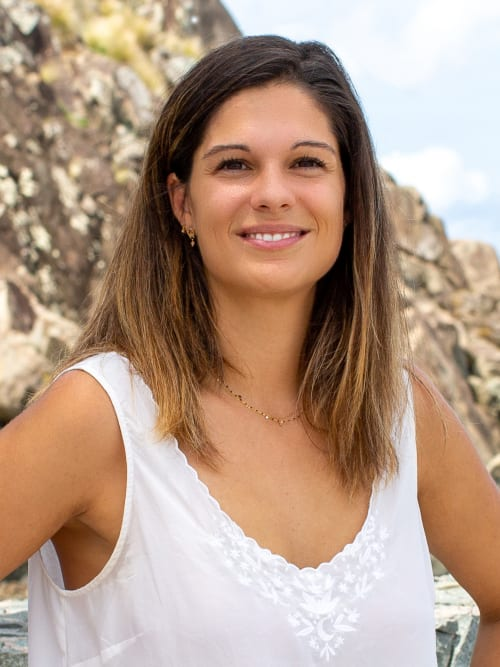 Marion Sautereau, a top real estate agent in New York City for Corcoran, a real estate firm in St Barth.