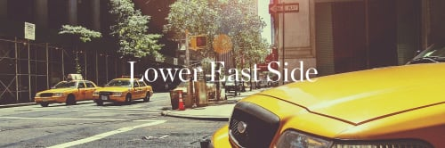 banner image for Lower East Side